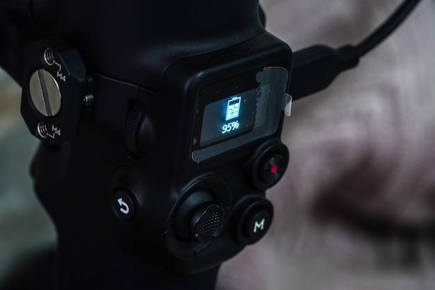 Gimbal charge l'appareil photo et l'équipement vidéo