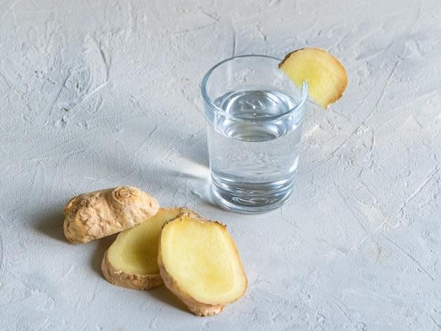 Ginger ale - boisson probiotique bio au gingembre maison