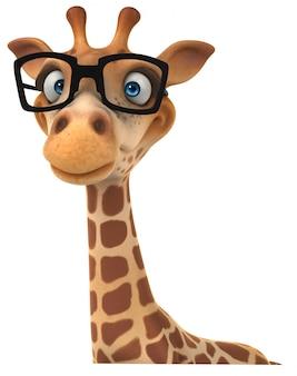 Girafe drôle