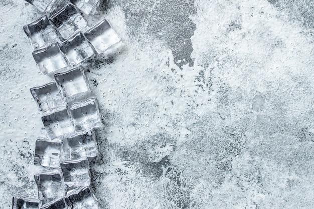 Glace artificielle acrylique transparent pièces en plastique réutilisable
