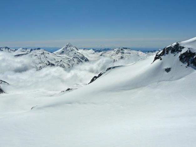 Glacier dans les alpes