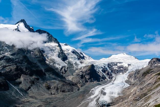 Glacier du grossglockner, alpes, autriche