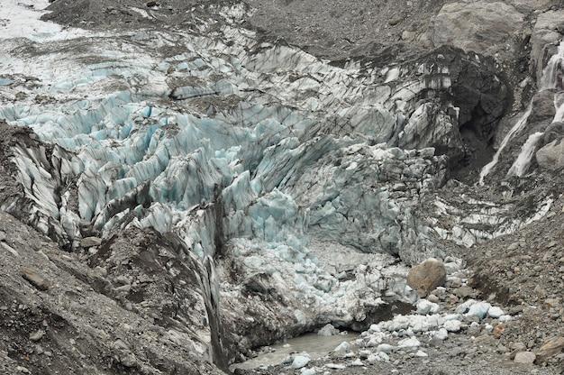 Glacier fox, paysage de nouvelle-zélande
