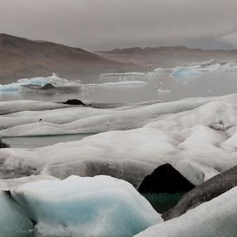 Glacier et iceberg