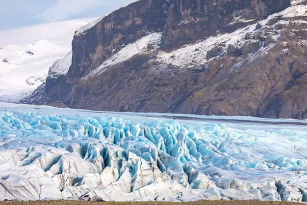 Glacier de skaftafell