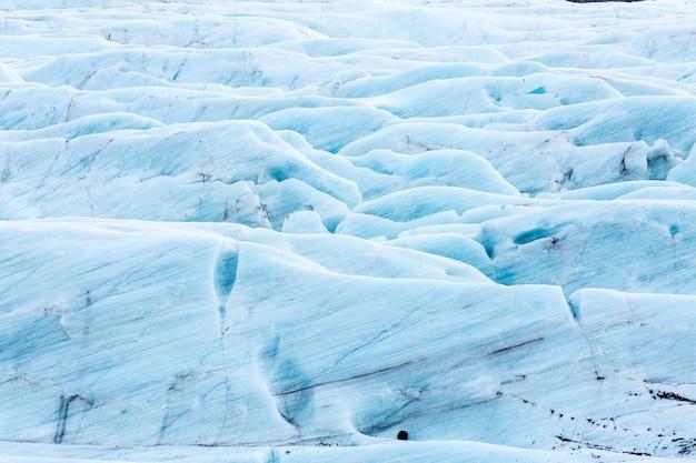 Glacier svinafell islande