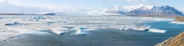Glacier vatnajokull islande