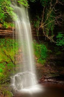 Glencar chutes dynamique hdr