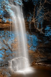 Glencar chutes hdr automne