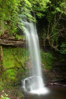 Glencar chutes paysages