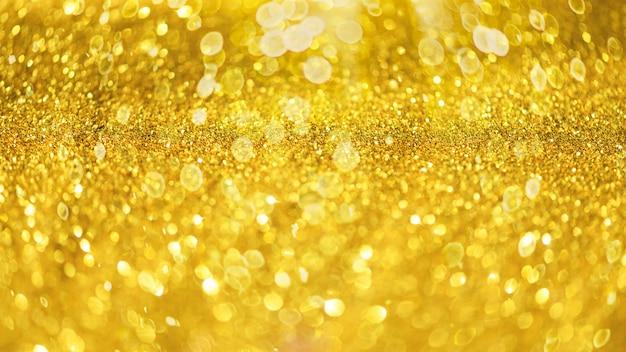 Glitter défocalisé abstrait avec lumières floues, étoiles.