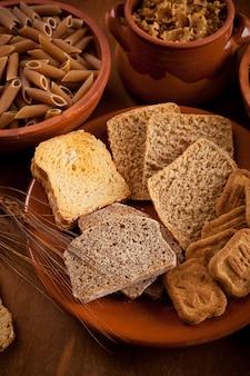 Glucides De Grains Entiers Photo Premium