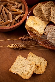 Glucides de grains entiers