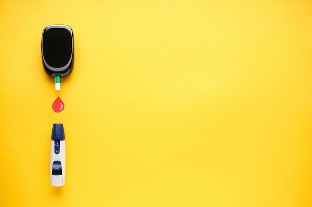 Glucomètre numérique et stylo lancette