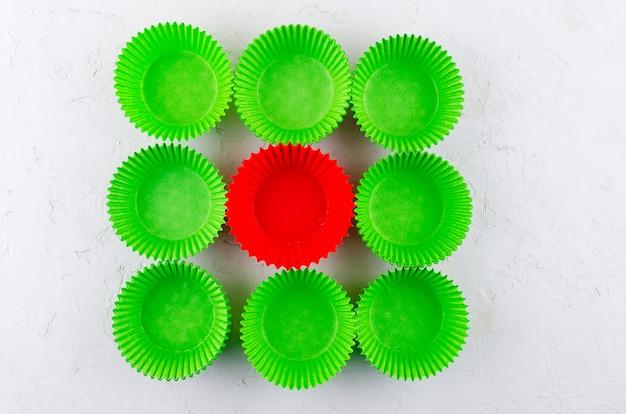 Gobelets en papier pour cupcakes et muffins
