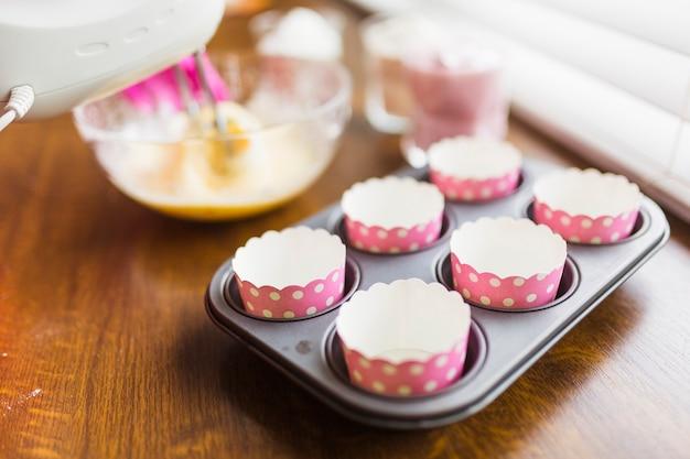 Gobelets en papier pour muffins
