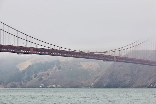 Golden gate bridge à san francisco, états-unis