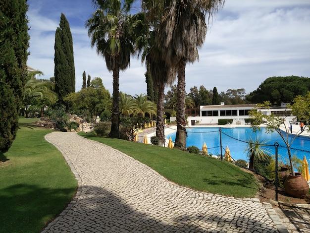 Golf resort de luxe dans la région de l'algarve.