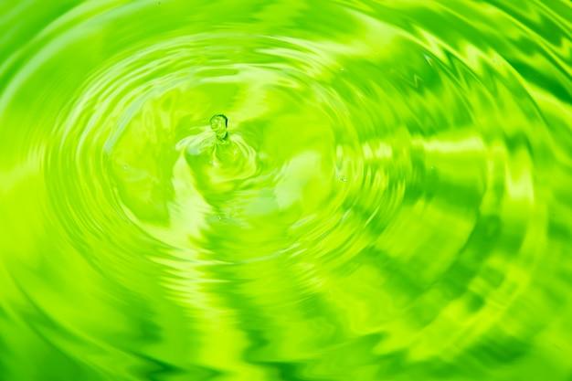 Gouttes d'eau sur un fond coloré.