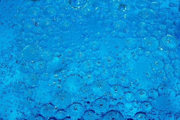 Gouttes de savon, taches, huile, bulles
