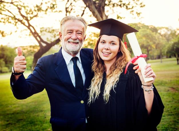 Grad à la cérémonie de remise des diplômes