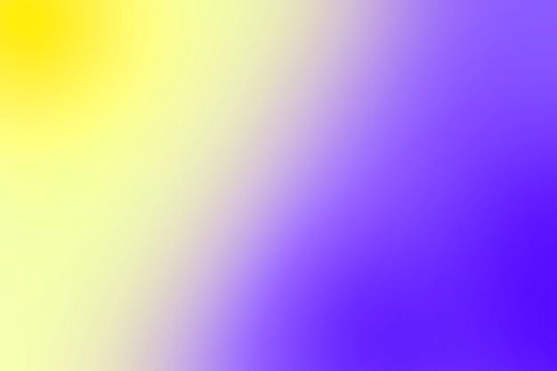 Gradation douce des couleurs