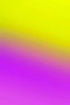 Gradient de jaune et violet