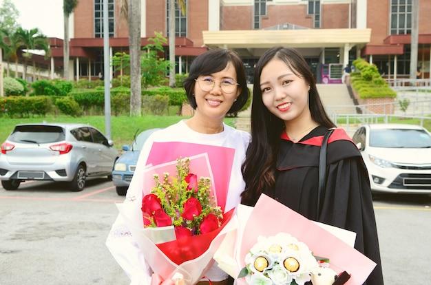 Graduation asiatique