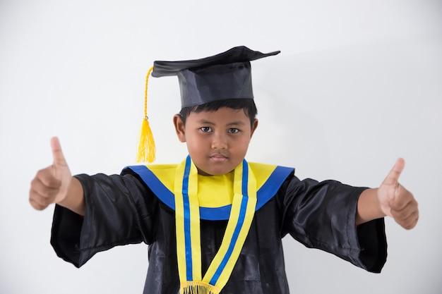 Graduation petit garçon
