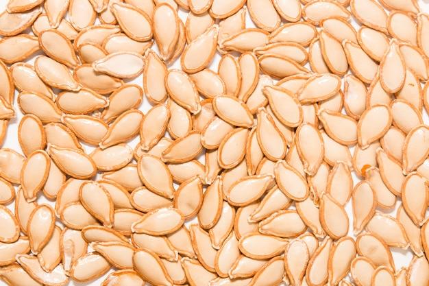 Graines de citrouille orange