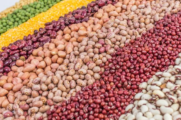 Graines de grains nourriture rouge nul plein