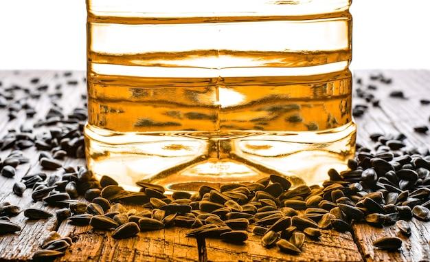 Graines et huile de tournesol