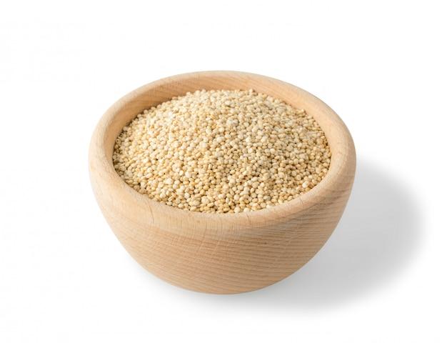 Graines de quinoa ou chenopodium quinoa isolé