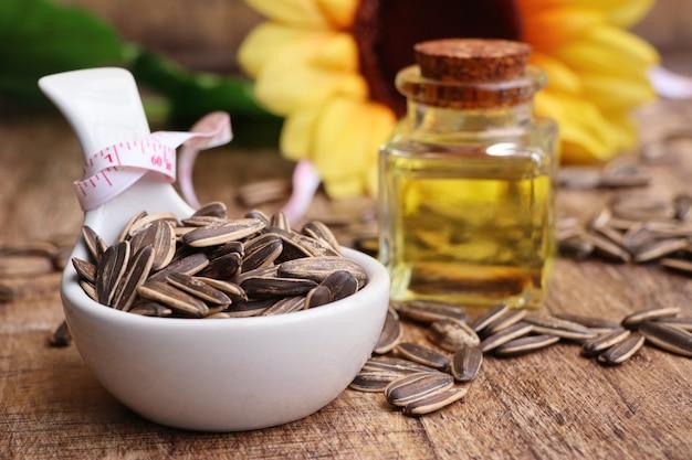 Graines de tournesol et huiles