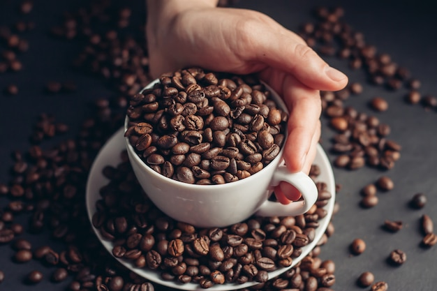 Grains de café, articles de café torréfiés