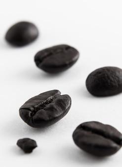 Grains de café blanc