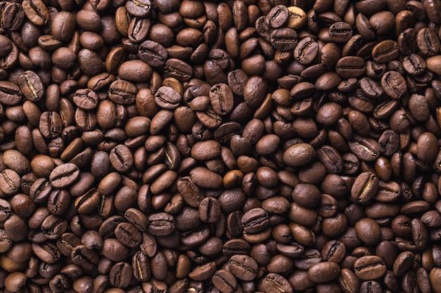 Grains de café. café texture