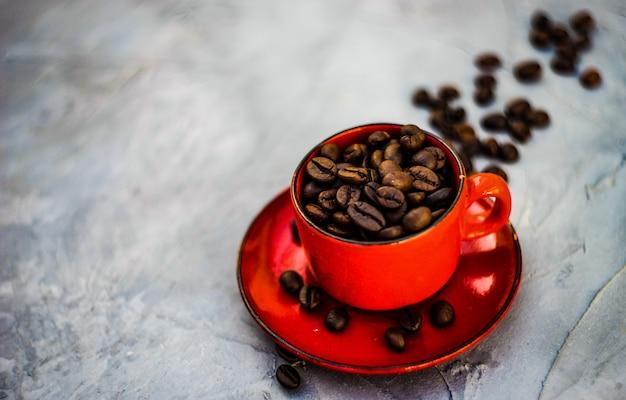 Grains de café comme un aliment