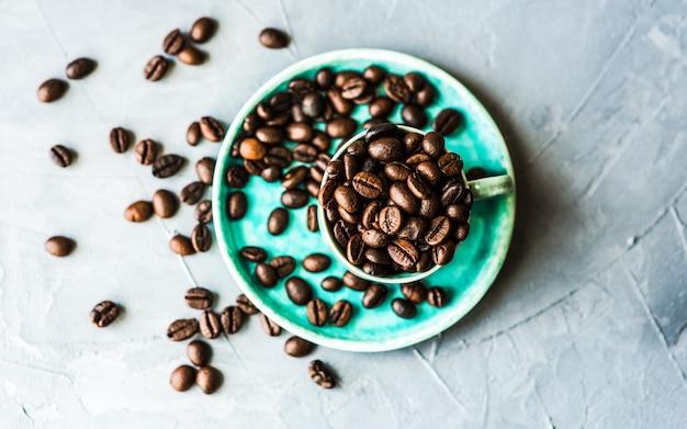 Grains de café crus