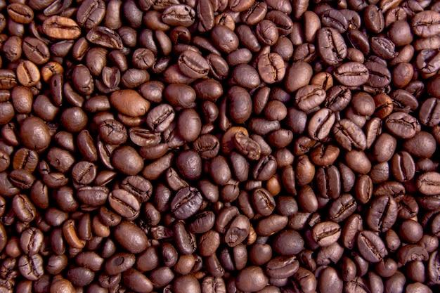 Grains de café grillés