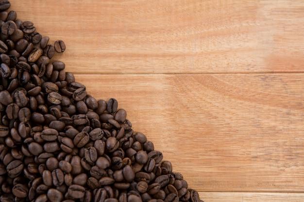 Grains de café torréfiés