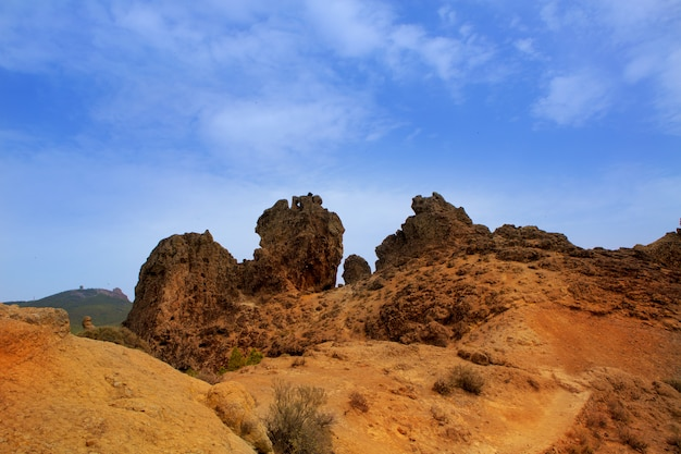 Gran canaria tejeda roques vue de nublo