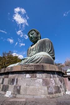 Le grand bouddha du temple kotokuin à kamakura