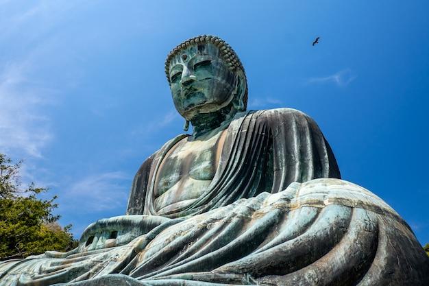 Le grand bouddha de kamakura, japon