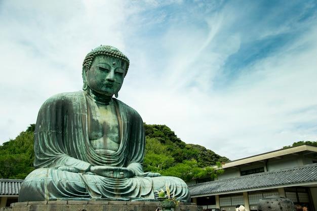 Le grand bouddha à kamakura kanagawa au japon.