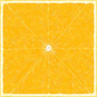 Grand fond de texture orange carrée