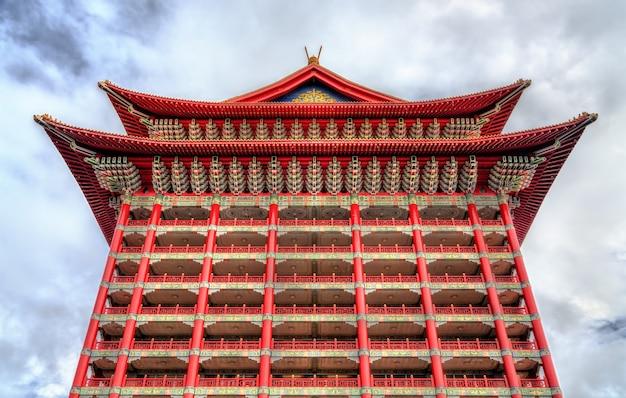 Le grand hotel, un bâtiment classique chinois dans le quartier zhongshan de taipei, taiwan