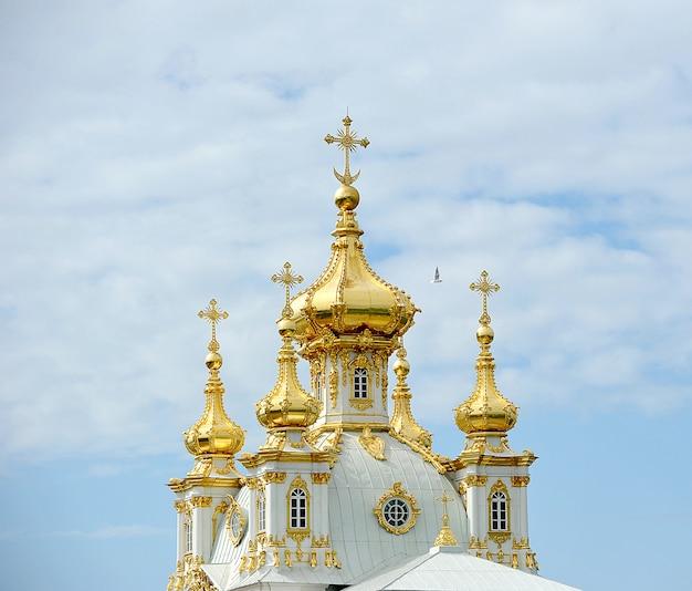 Le grand palais à peterhof