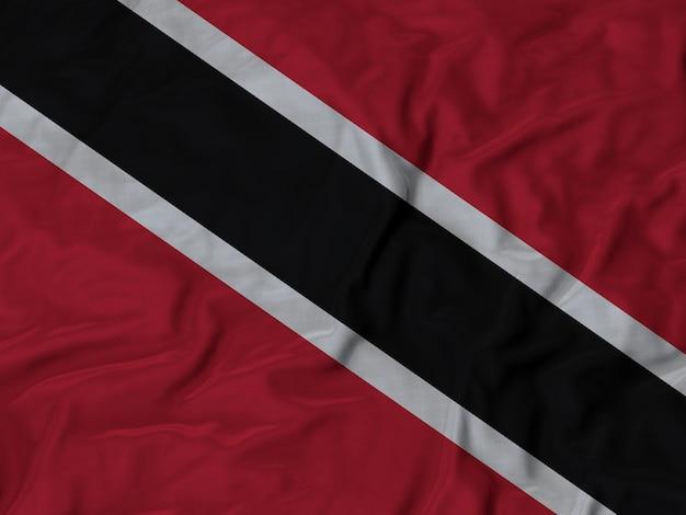 Grand plan, de, ébouriffé, trinité-et-tobago, drapeau