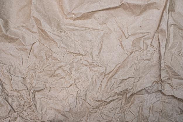Grand plan, froissé, papier froissé, vieux, texture, fond